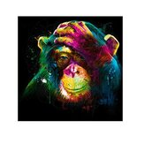 Chimpansee 5D DIY Diamond schilderij borduurwerk Cross Stitch Home Wall Decor Art decoraties