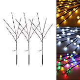 3pcs Solar Garden Light Outdoor Decor Tree Ball Lawn Yard Path Lamp Christmas Decorations Lights
