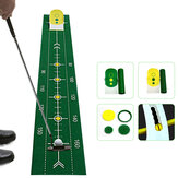 Tappeto da golf pieghevole Golf Putting Ball Aid Training Training Swing Trainer Accessori da golf Accessori da allenamento per golf