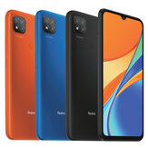 Xiaomi Redmi 9C Global Version 6,53 pouces 3 Go 64GB 13MP Triple caméra 5000mAh MTK Helio G35 Octa core 4G Smartphone