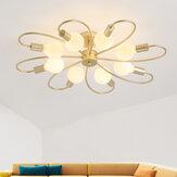110-265V Современная минималистичная гостиная Лампа Люстры Новый светодиодный потолок Лампа Творческая умная спальня Лампа Крытый без лампы
