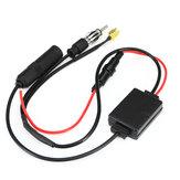 Универсальный FM AM Авто Антенна Антенный разделительный кабель Digital Радио Усилитель Прием сигнала