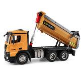 Wltoys 14600 1/14 2.4G Dirt Camion à benne basculante Modèles de véhicules d'ingénieur de voiture RC