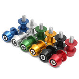Paar 8mm Swing Arm Spool Motorcycle CNC Slider Stand Bobbins Universele Legering