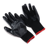 Nylon Caucho Impregnado Butyronitrile Wear Proof Industrial Protective Work Guantes