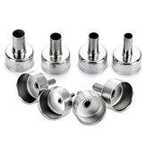 8Pcs JCD Hot Air Welding Nozzles Stainless Steel Different Sizes Nozzles for 8858 8898 858D8908