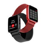 [HIFI bluetooth Çağrısı] Bakeey I68 BT5.0 Kalp Kan Basıncı Oksijen Vücut Sıcaklığı Monitör 25 Spor Modu Çoklu Saat Yüzleri Akıllı Saat