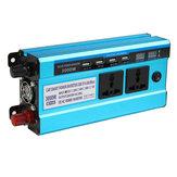 3000W Dual Pantalla Peak Solar Power Inverter Inversor de onda sinusoidal modificada 12V24V48V Power Converter