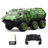 Eachine EAT07 1/16 2.4G 6WD Armored RC Coche Modelos de vehículos de control proporcional completo