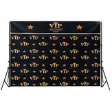 5x3FT 7x5FT Black Red Carpet Event VIP Modello Sfondo fotografico Studio Prop Background