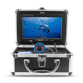 Erchang 7inch LCD Screen 1000TVL Underwater HD Camera 12LEDs Lamp Visible Fish Finder 15M
