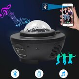 LED Galaxy Sternennachtlichtprojektor Ocean Star Sky Party Speaker Lamp Remote