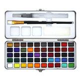 Seamiart 50 kolorów zestaw farb akwarelowych Przenośny obraz Pigment akwarelowy dla początkujących materiałów do rysowania artystycznego