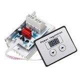 AC 220 V 10000 W 80A Controle Digital SCR Regulador de Tensão Regulador de Velocidade Do Termostato Eletrônico Com Medidores Digitais
