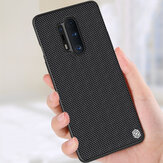 NILLKIN for Oneplus 8 Pro Case Anti-fingerprint Anti-slip Nylon Synthetic Fiber Textured Shockproof Protective Case Back Cover