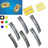10個1206カラフルなSMD SMT LEDライトビーズストリップライト用