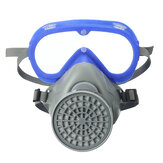 Full Face Respirator Gas Mask & Goggles Comprehensive Cover Dustproof Chemical