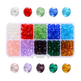 Transparent Crystal Glass Beads For DIY Bracelet Jewelry Accessories