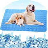 Koeling Pet Mat Bed Honden Cat House Cool Silk Mattress Ice Pad Deken voor kleine puppy's