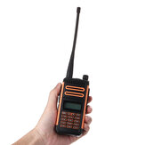 Baofeng X3 Plus 10 W Walkie Talkie Tragbares Tri-Band-Radio UHF / VHF 6600mah
