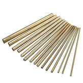 15pcs 2-8mm Diameter Cilinder Brass Rod Bars Lengte 100mm