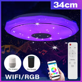 Bluetooth WIFI LED Deckenleuchte 256 RGB Music Speeker Dimmbare Lampe APP Remote