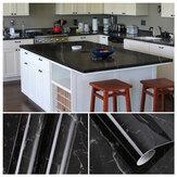 キッチンワークトップカバービニールウォールステッカー粘着性バックフィルム耐熱性家庭用キッチン壁装飾用