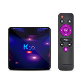 K10 Amlogic S905X3 RAM 4GB ROM 32GB 5G Wifi bluetooth 4.1 1000M LAN 4K 8K HDR Android 9.0 TV Box Support 4K Youtube