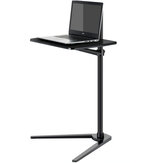 Movable UP-8T Aluminum 7-20 inch Laptop Floor Stand Height Adjustable Bedside Lapdesk Sofa Desk for Tablet PC Laptop Tea Table