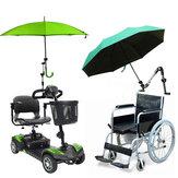 Support de parapluie bébé voiture support support connecteur connecteur barre de tuyau attachement pince fauteuil roulant