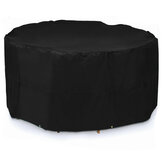 Waterproof Outdoor Garden Furniture Round Cover Oxford Cloth Dustproof Covers