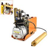 30MPa 1800W Eletronic PCP Air Compressor Scuba Diving Tank Compressor Inflação de alta pressão Tela digital Controlador de pressão Equipamento de mergulho com filtro