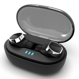 [bluetooth 5.0] TWS True Wireless Earbuds 6D Stereo IPX5 Waterproof Noise Cancelling Binaural Call Earphone