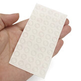 Suleve™ SFB01 50Pcs Self Adhesive Silicone Feet Bumper Dots Cabinet Buffer Stop Pads Protector