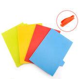 4 Cái Bếp Cắt Nhựa Đặt Colorful Phục vụ Chặt khối đứng