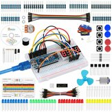Geekcreit Strater Kit for Nano Project with Servo Motor Jumper Wire Detailed Tutorial for Arduino UNO Mega 2560