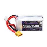 CODDAR 11,1 V 1500 mAh 110C 3S XT60 Wtyczka Wysokowydajna bateria Lipo do RC Drone