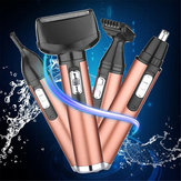 4 In 1 Nose Hair Clipper Trimmer Electric Beard Shaver