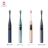 Oclean X PRO Cepillo de dientes eléctrico sónico 32 niveles IPX7 Impermeable Aplicación de soporte de limpiador de dientes recargable con pantalla táctil para IOS y Android