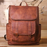 Ανδρικό Vintage Multi-pocket Anti-theft 15,6 Inch Laptop Backpack