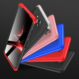 Bakeey for POCO X3 NFC Case 3 in 1 Detachable Double Dip with Lens Protect Frosted Anti-Fingerprint Shockproof PC Protective Case Non-original