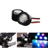 12V DC 6W Waterproof LED Light Motorcycle Scooter Bicycle Rear View Mirror Lamp Handlebar
