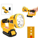 For Dewalt DCL040N 18V Li-ion DCL043N Wireless Handheld LED Pivot/Torch Light