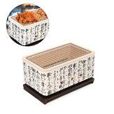 4In1JapanseKoreaansekeramische Hibachi BBQ-tafel Grill Yakitori Barbecue houtskool kookplaat