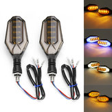 Motorcycle Turn Signal LED Lights Universal Daytime Running Warning Cafe Racer