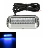 3.5inch Blue 27 Led 316SS Cover 50W 74Lm Under Water Pontoon Waterproof Boat Transom Lights