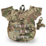WoSporT Tactical Bag Mini Protective Camping Backpack S/M Demon