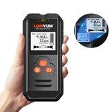 LOMVUM Multifunctionele digitale wanddetector Metaal Hout Wisselspanning Live draad Handheld Detector LCD