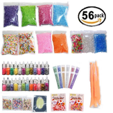 Glitterparels Slijm Fishbowl Beads Mylar Flake Slime Make Your Own Kids Gloop Tools