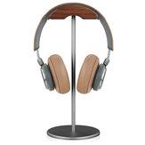 Bakeey EJ4 Uchwyt na słuchawki Stojak na słuchawki do gier z drewna orzechowego Stojak na stojak z antypoślizgową metalową podstawą